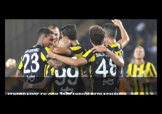 Fenerbahçe en çok zorlandığı deplasmanda