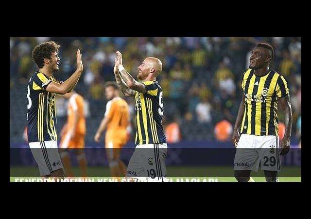 Fenerbahçe'nin yeni sezondaki maçları
