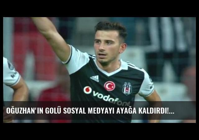 Oğuzhan'ın golü sosyal medyayı ayağa kaldırdı!