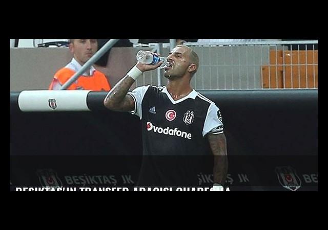 Beşiktaş'ın transfer aracısı Quaresma
