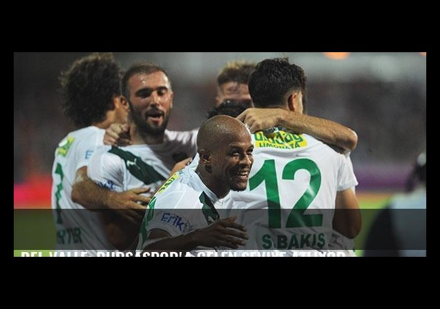 Del Valle: Bursaspor'a gelen seviye atlıyor