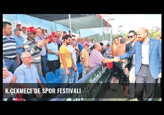 K.Çekmece'de spor festivali