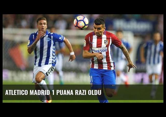 Atletico Madrid 1 puana razı oldu