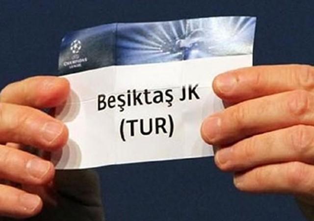 Beşiktaş Şampiyonlar Ligi'nde dördüncü torbada!