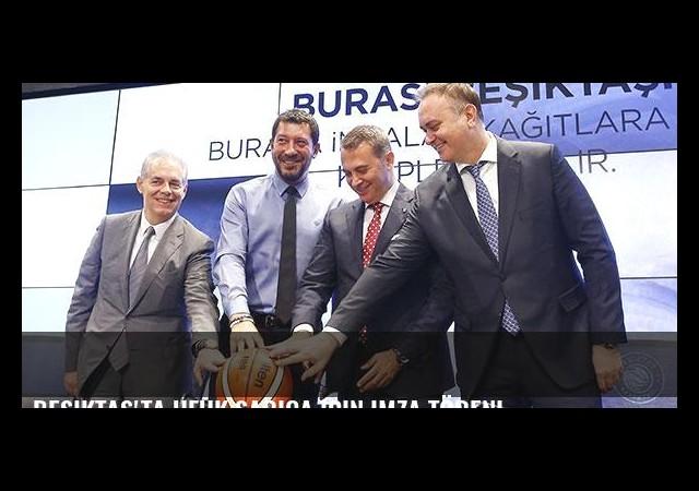 Beşiktaş'ta Ufuk Sarıca için imza töreni