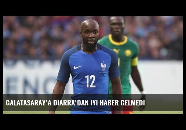 Galatasaray'a Diarra'dan iyi haber gelmedi