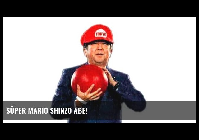 Süper Mario Shinzo Abe!