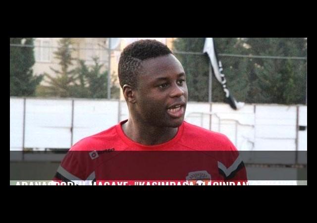 Adanasporlu Magaye: 'Kasımpaşa maçından 3 puanla dönmek istiyoruz'