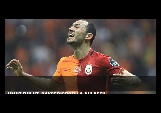 Umut Bulut, Kayserispor'la anlaştı!
