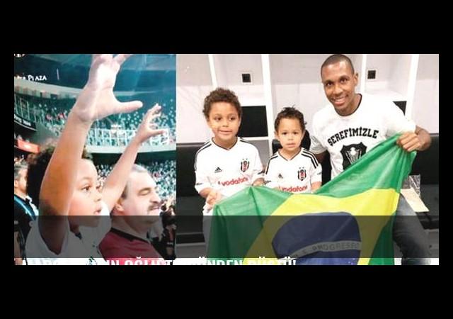 Marcelo'nun oğlu tribünden düştü!