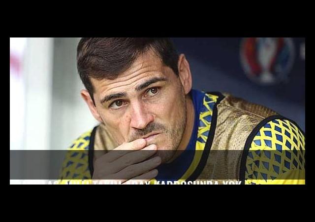Casillas, milli takım aday kadrosunda yok