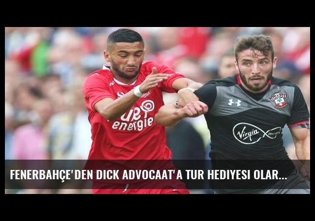 Fenerbahçe'den Dick Advocaat'a tur hediyesi olarak Hakim Ziyech!