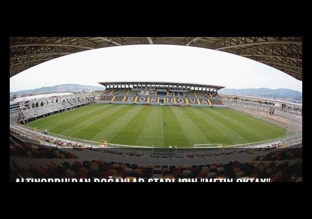 Altınordu'dan Doğanlar Stadı için 'Metin Oktay' önerisi