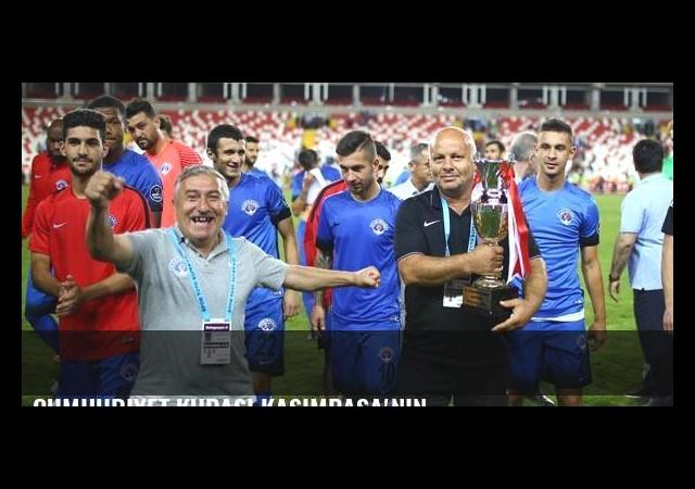 Cumhuriyet Kupası Kasimpaşa'nın