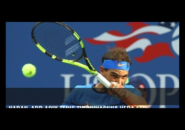 Nadan, ABD Açık Tenis Turnuvası'na veda etti