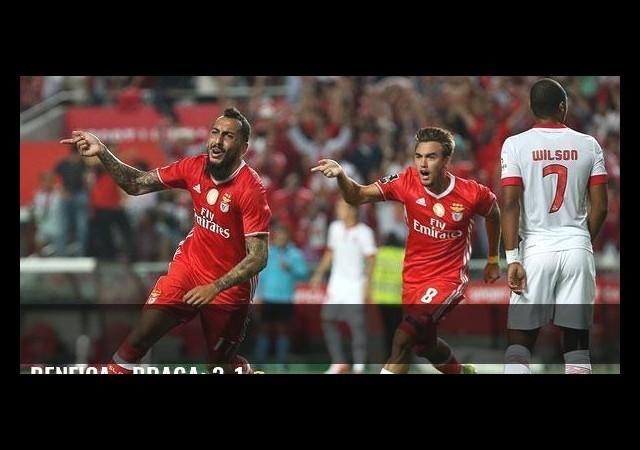 Benfica - Braga: 3-1