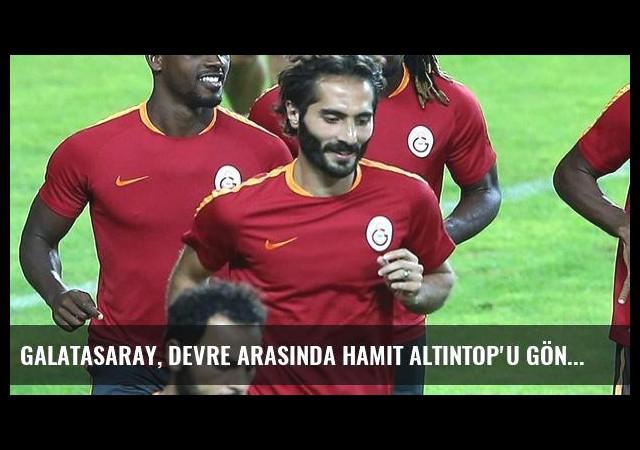 Galatasaray, Devre Arasında Hamit Altıntop'u Gönderecek