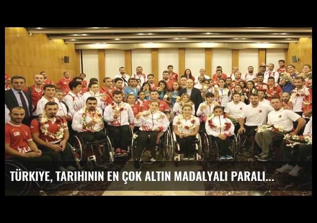 Türkiye, tarihinin en çok altın madalyalı Paralimpik Oyunları'nı yaşadı