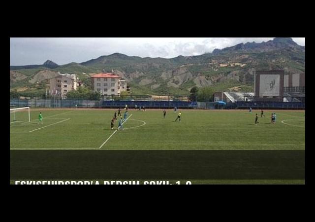 Eskişehirspor'a Dersim şoku: 1-0