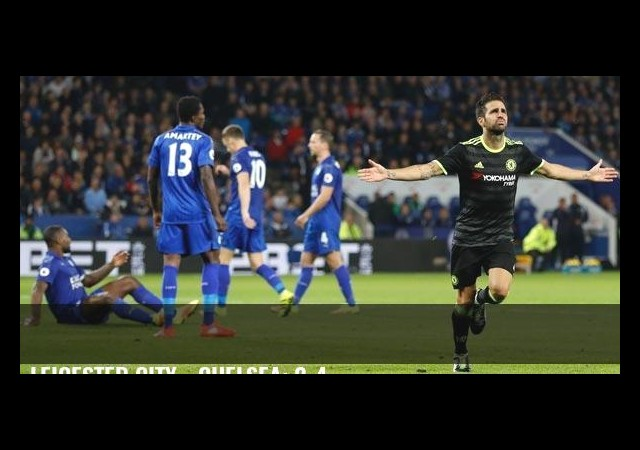 Leicester City - Chelsea: 2-4
