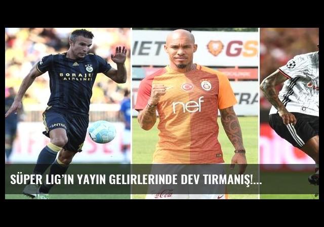 Süper Lig'in yayın gelirlerinde dev tırmanış!