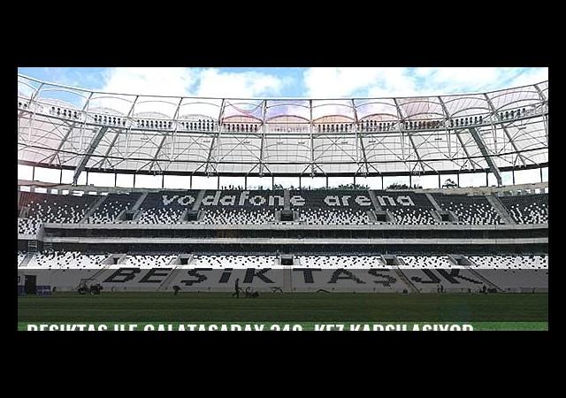 Beşiktaş ile Galatasaray 340. kez karşılaşıyor