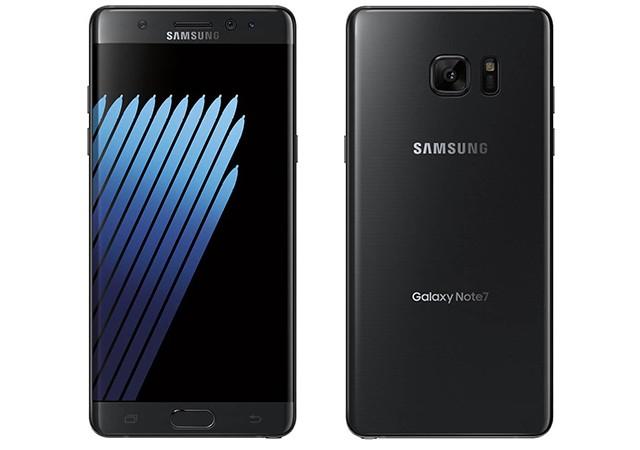 Samsung'dan yeni Galaxy Note 7...