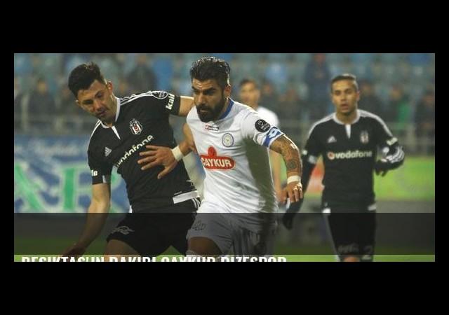 Beşiktaş'ın rakibi Çaykur Rizespor