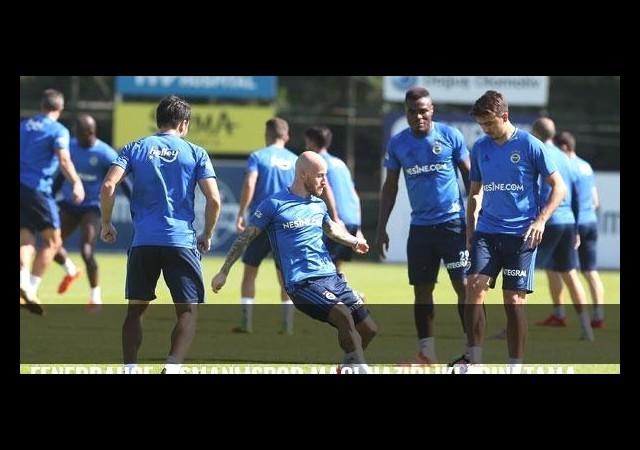 Fenerbahçe, Osmanlıspor maçı hazırlıklarını tamamladı