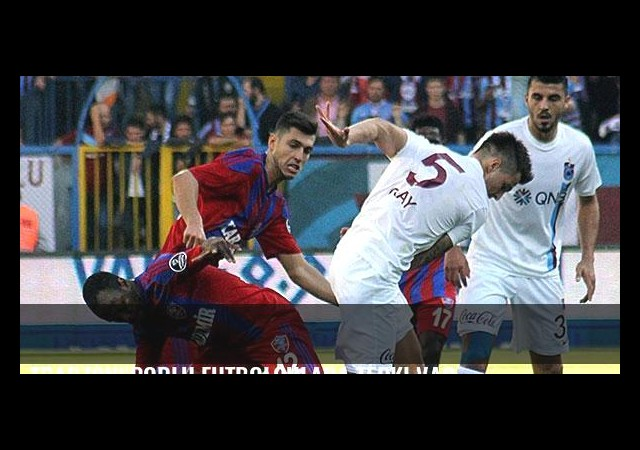 Trabzonsporlu futbolculara tepki var