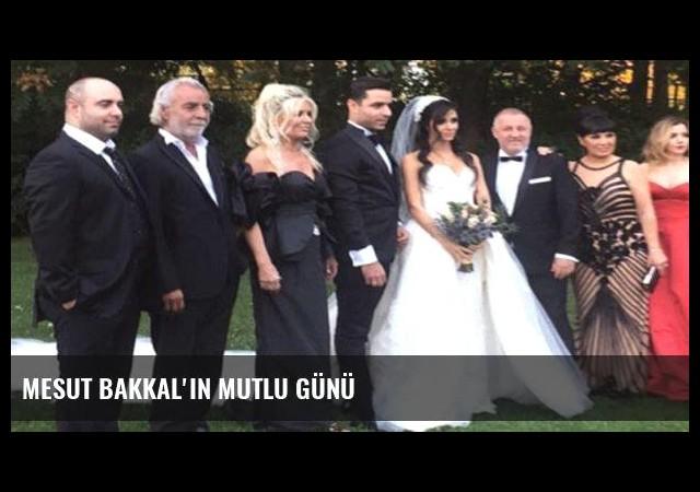 Mesut Bakkal'ın mutlu günü