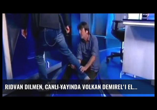 Rıdvan Dilmen, Canlı Yayında Volkan Demirel'i Eleştirdi