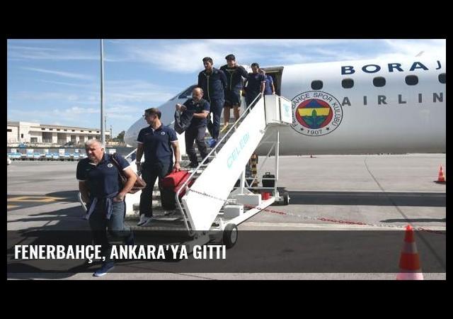Fenerbahçe, Ankara'ya gitti