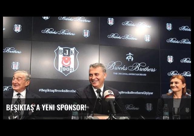 Beşiktaş'a yeni sponsor!