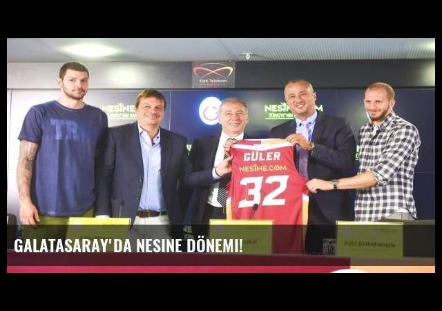 Galatasaray'da Nesine dönemi!
