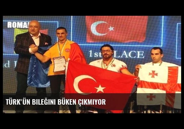 Türk'ün bileğini büken çıkmıyor