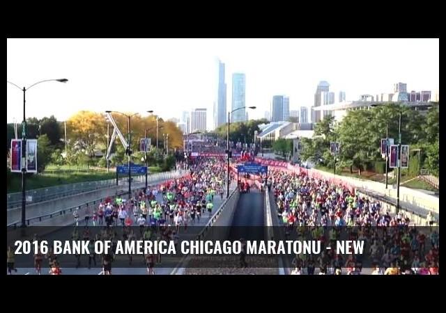 2016 Bank Of America Chicago Maratonu - New