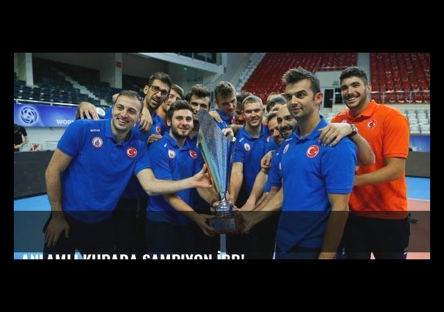 Anlamlı kupada şampiyon İBB!