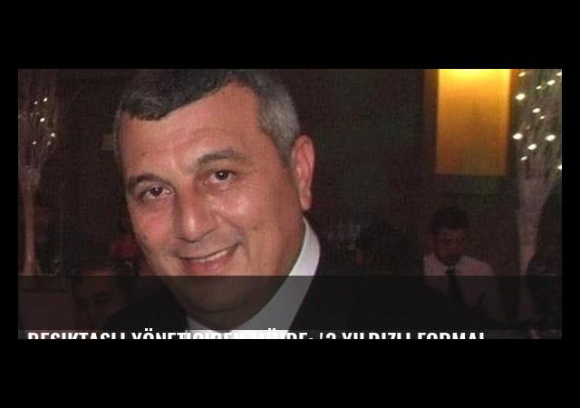 Beşiktaşlı yöneticiden müjde: '3 yıldızlı formalar Mart'ta hazır'