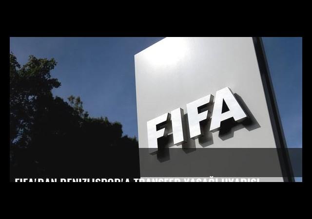 FIFA'dan Denizlispor'a transfer yasağı uyarısı