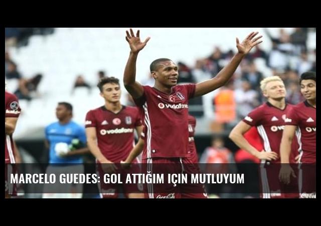 Marcelo Guedes: Gol attığım için mutluyum
