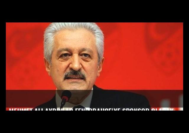 Mehmet Ali Aydınlar Fenerbahçe'ye sponsor olacak