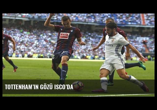 Tottenham'ın gözü Isco'da