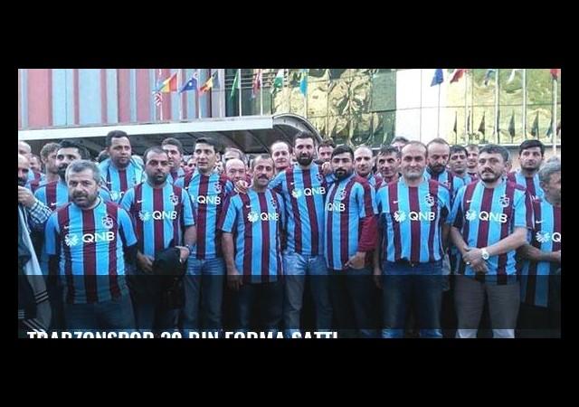 Trabzonspor 30 bin forma sattı