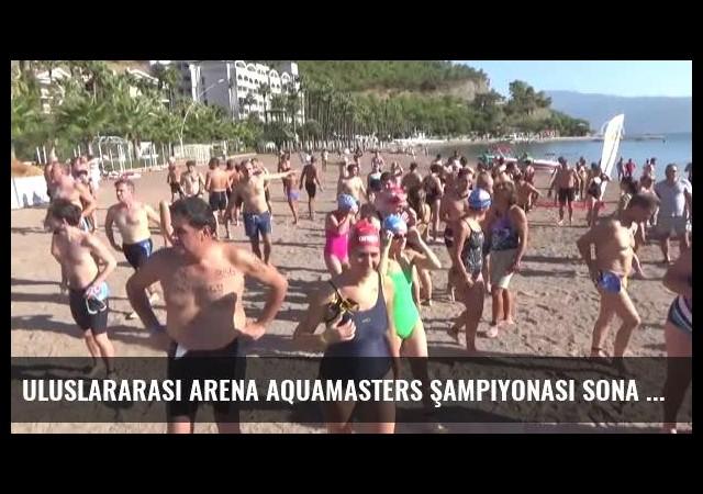 Uluslararası Arena Aquamasters Şampiyonası Sona Erdi