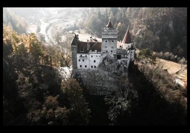 Kont Drakula burada yaşadı!