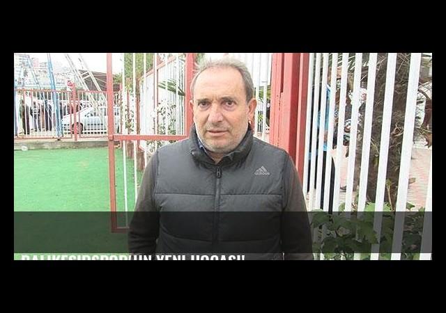 Balıkesirspor'un yeni hocası!