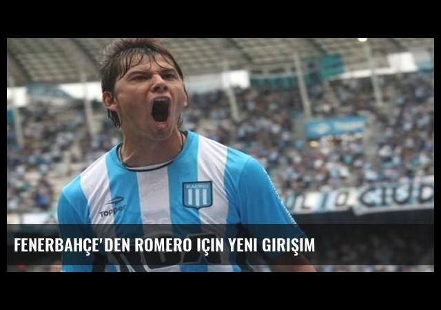 Fenerbahçe'den Romero için yeni girişim