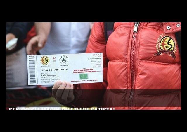 Seyircisiz maçın biletleri satışta!