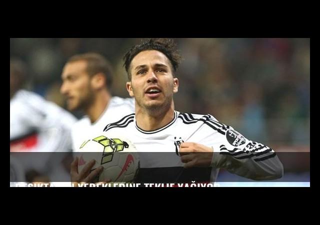 Beşiktaş'ın yedeklerine teklif yağıyor